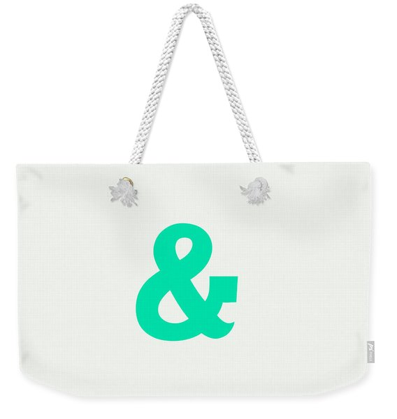 And Weekender Tote Bag