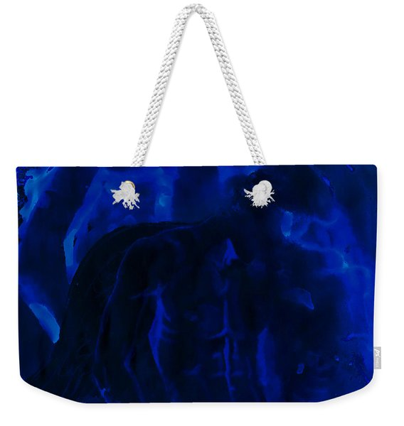 And Out In The Pouring Rain Weekender Tote Bag