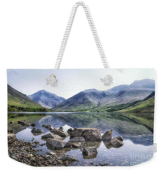 And There Was Peace... Weekender Tote Bag