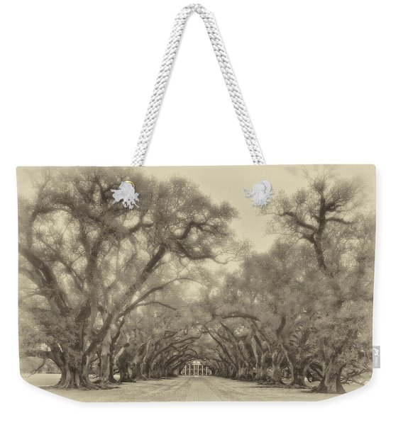 And Time Stood Still Sepia Weekender Tote Bag