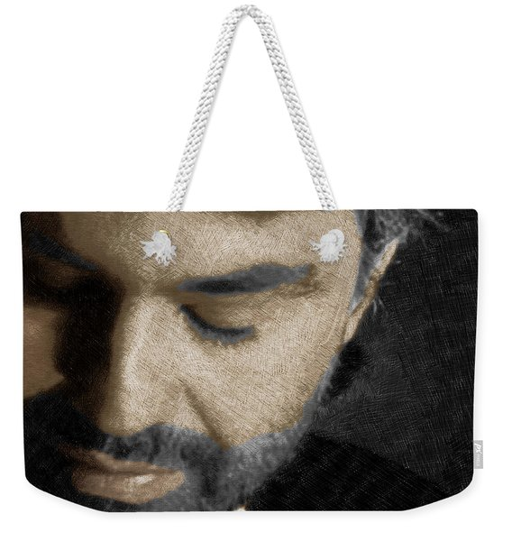 Andrea Bocelli And Square Weekender Tote Bag