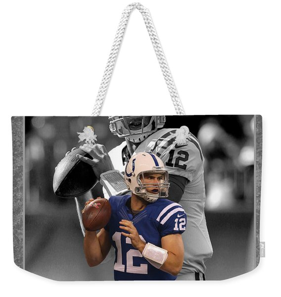 Andrew Luck Colts Weekender Tote Bag