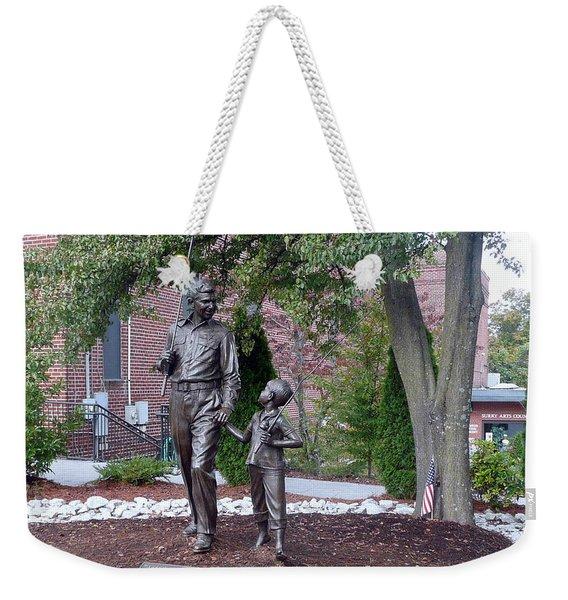 Andy And Opie Weekender Tote Bag