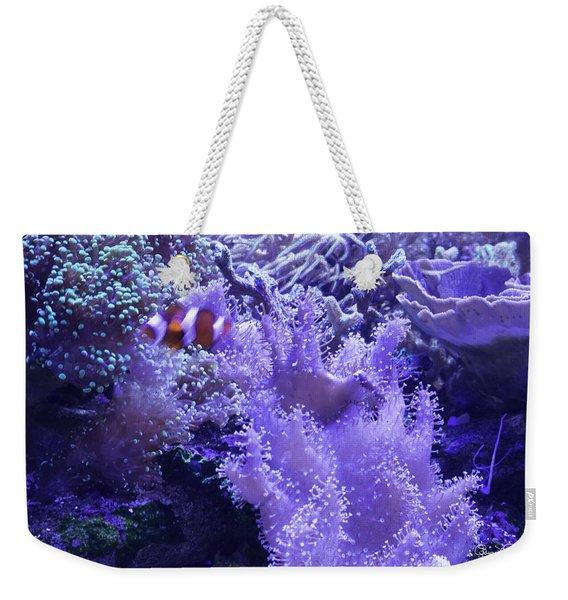 Anemone Starlight Weekender Tote Bag