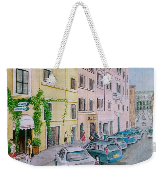 Anfiteatro Hotel Rome Italy Weekender Tote Bag