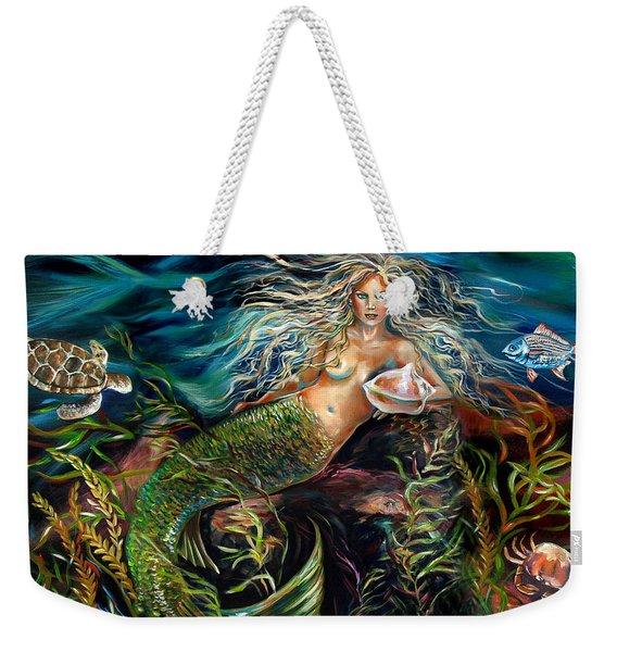 Angel Eyes Weekender Tote Bag