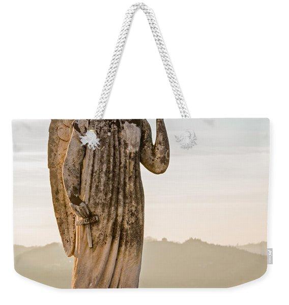 Angel Glow Weekender Tote Bag