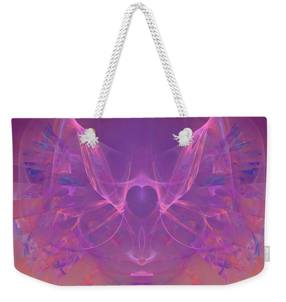 Angel Heart - Dedicated To Women In Service To Others Weekender Tote Bag