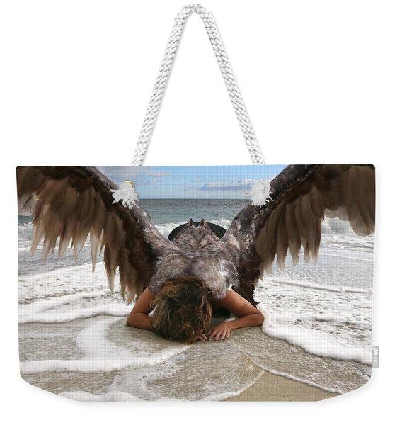 Angel- I Feel Your Sorrow  Weekender Tote Bag