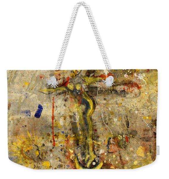 Angel In Journey Weekender Tote Bag