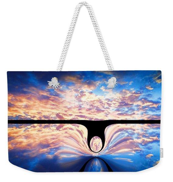 Angel In The Sky Weekender Tote Bag