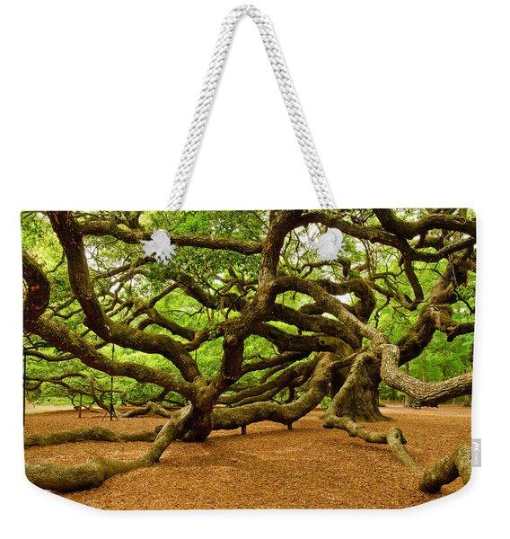 Angel Oak Tree Branches Weekender Tote Bag