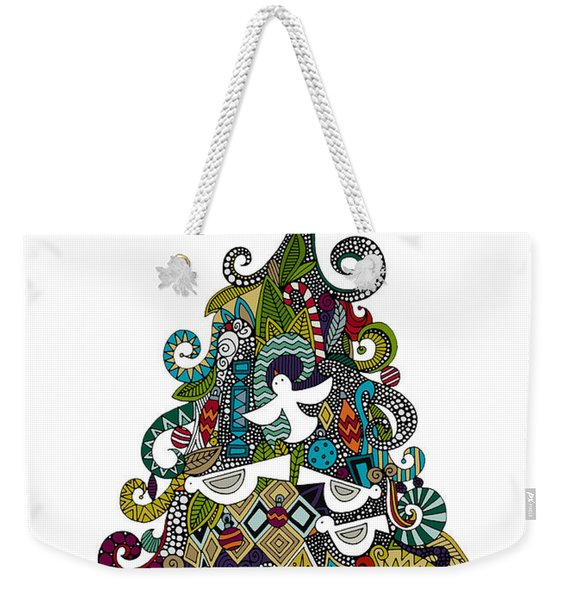 Angel Tree Weekender Tote Bag