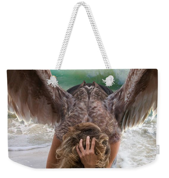 Angels- Be A Light To Those In Darkness Weekender Tote Bag