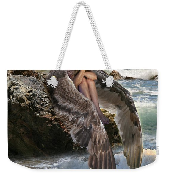Angels- God Has Sent His Spirit To Comfort You And Heal You Weekender Tote Bag