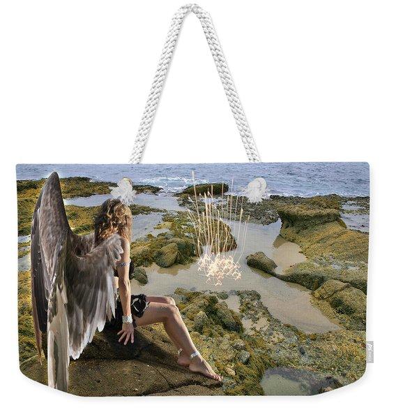 Angels- His Spirit Will Comfort You Weekender Tote Bag