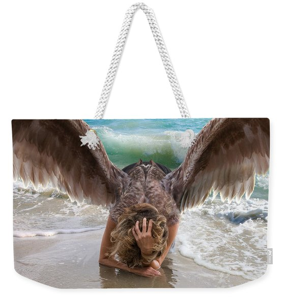 Angels- I Will Not Give Up On You Weekender Tote Bag