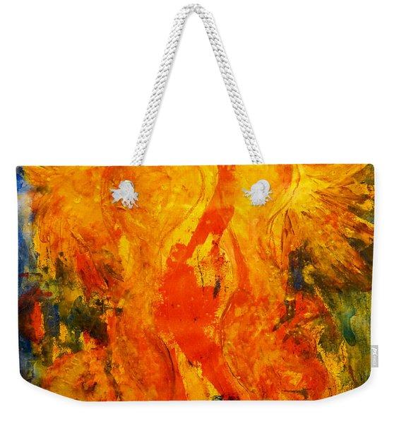 Angels Of Passion Weekender Tote Bag