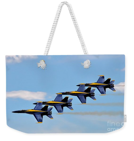 Angels Of The Sky Weekender Tote Bag