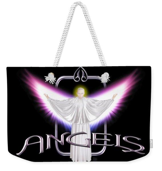 Angels Weekender Tote Bag