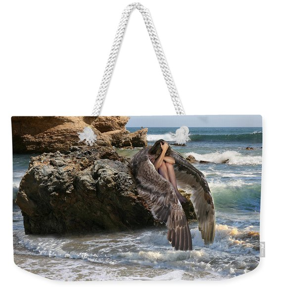 Angels- Shhh Stand Still And Be Quiet Weekender Tote Bag