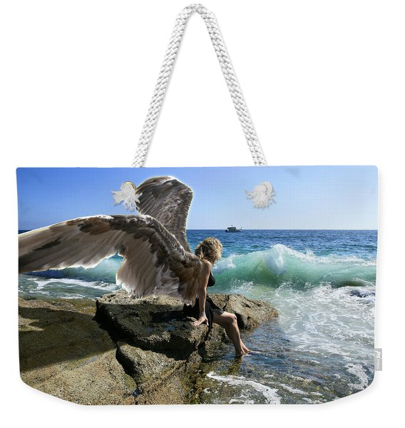 Angels- Yes I'm With You Weekender Tote Bag