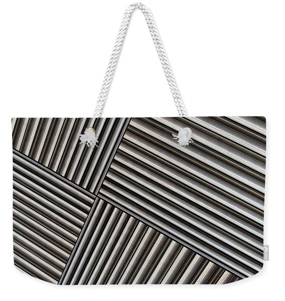 Angle Iron Weekender Tote Bag
