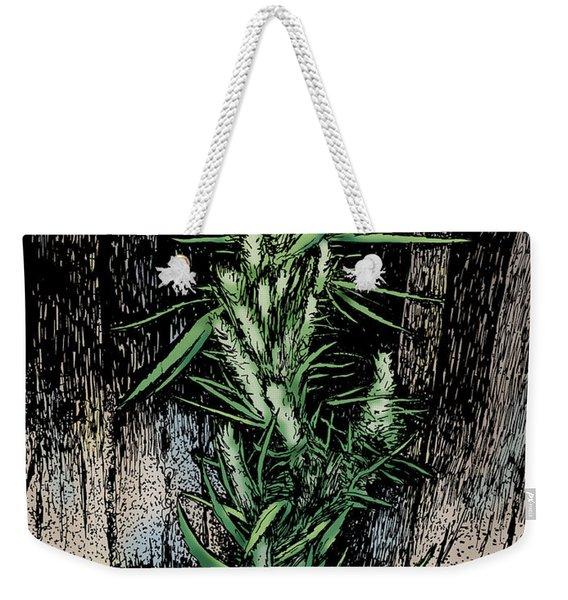 Angular Green Weekender Tote Bag