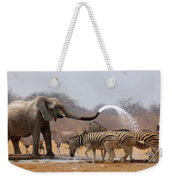 Animal Humour Weekender Tote Bag