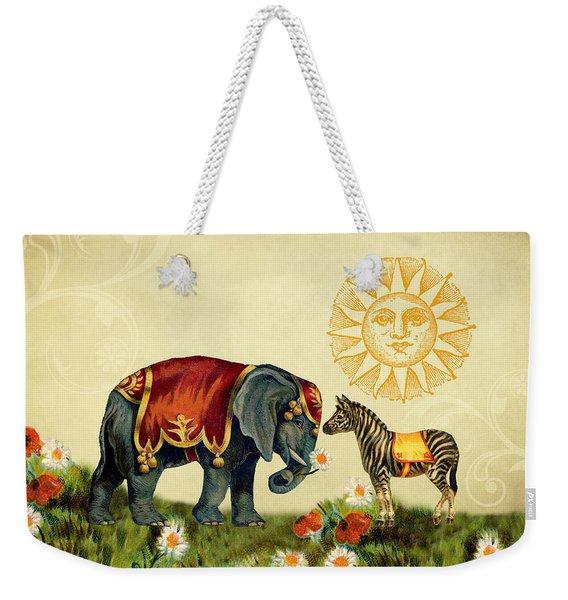 Animal Love Weekender Tote Bag