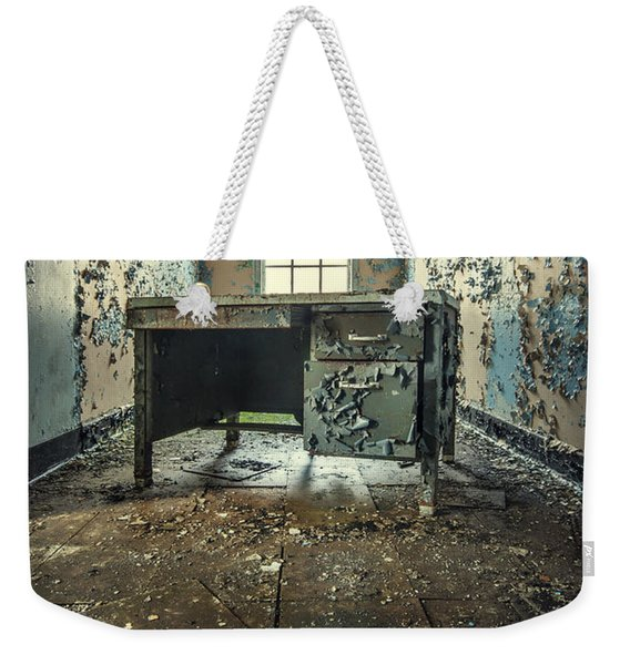 Another Day At The Office Weekender Tote Bag
