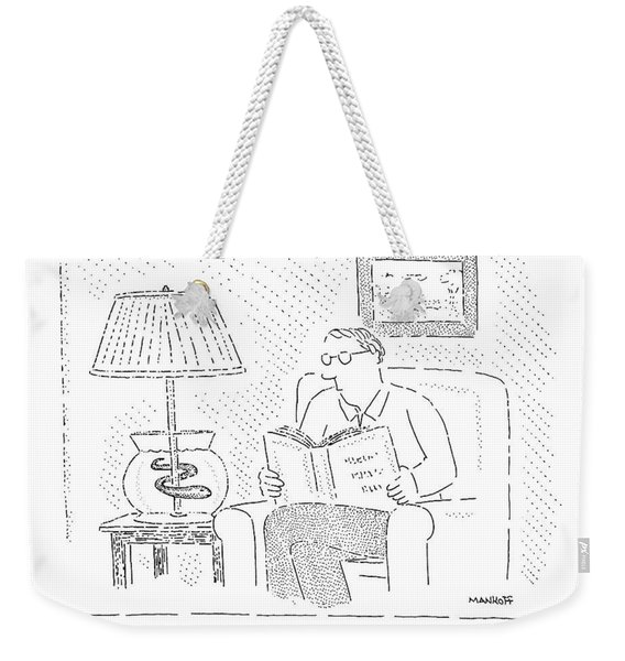 Another Energy-saving Idea From Your Electric-eel Weekender Tote Bag