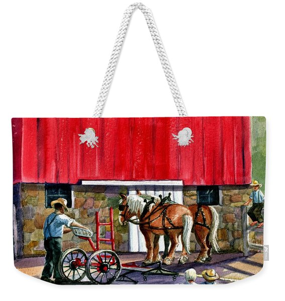Another Way Of Life Weekender Tote Bag