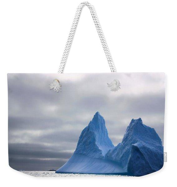 Antarctic Iceberg 2 Weekender Tote Bag