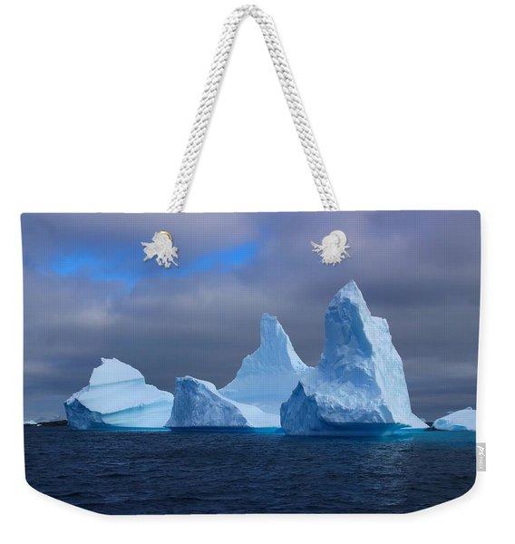 Antarctic Iceberg 3 Weekender Tote Bag