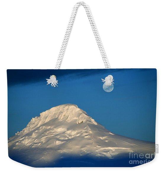 Antarctic Moon Weekender Tote Bag