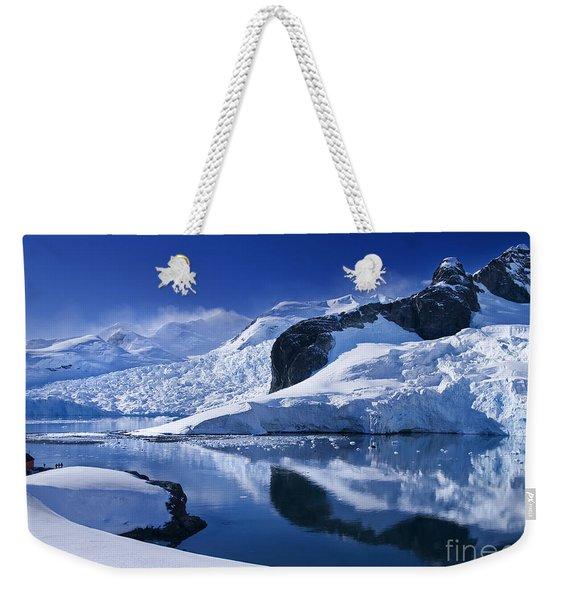 Antarctic Paradise Weekender Tote Bag