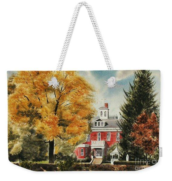 Antebellum Autumn Ironton Missouri Weekender Tote Bag