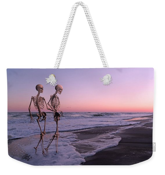 Anthropology Shared Similarities  Weekender Tote Bag