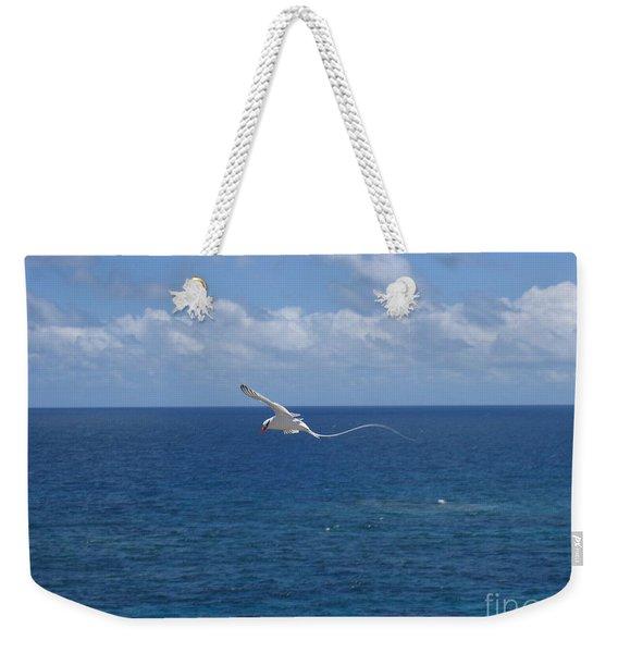 Antigua - In Flight Weekender Tote Bag