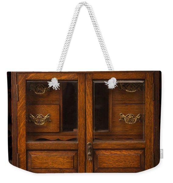 Antique Cabinet Weekender Tote Bag