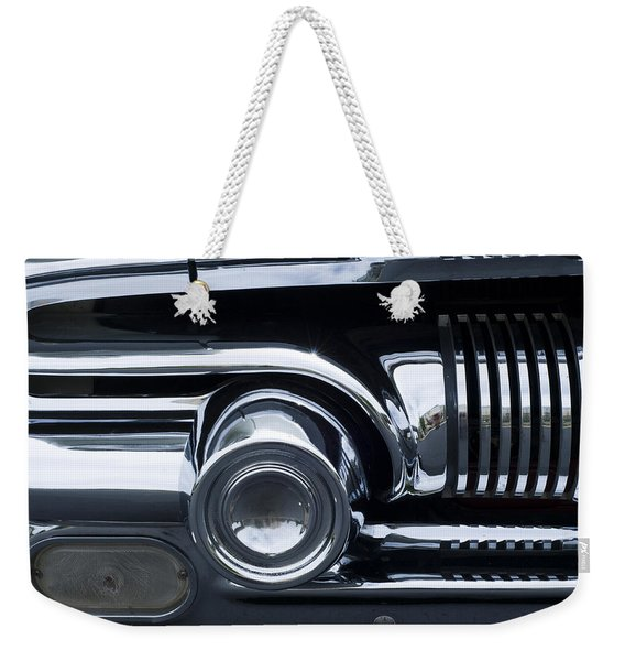 Antique Car Grill Weekender Tote Bag