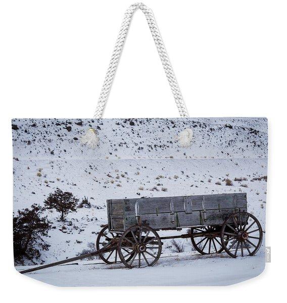 Antique Wagon Weekender Tote Bag