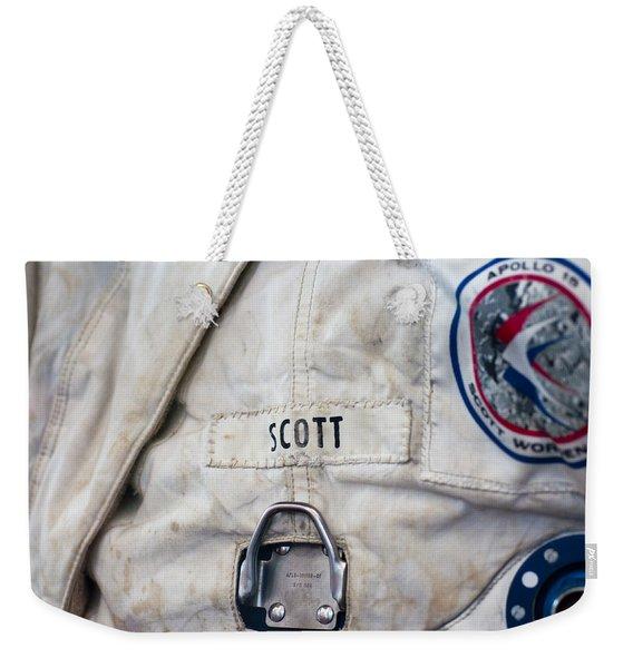 Apollo Lunar Suit Weekender Tote Bag
