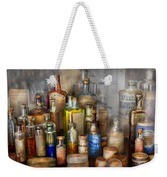 Apothecary - For All Your Aches And Pains  Weekender Tote Bag
