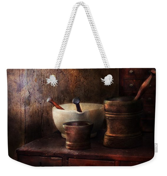 Apothecary - Pick A Pestle  Weekender Tote Bag