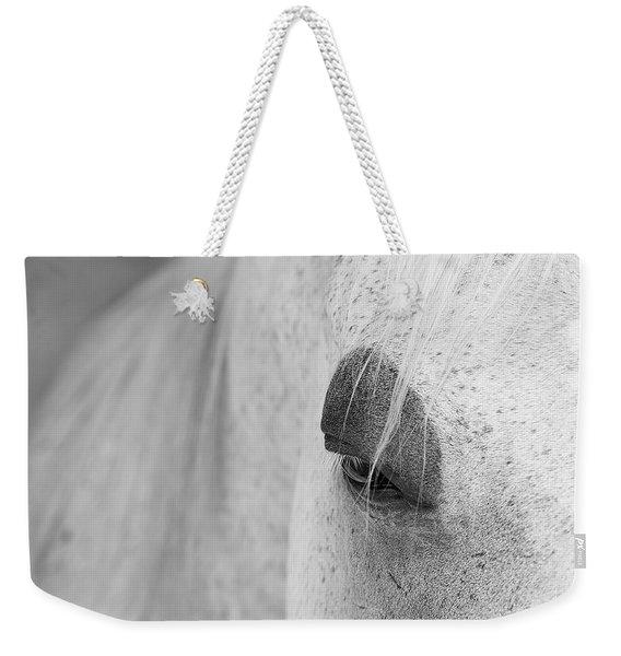 Appaloosa Eye Weekender Tote Bag