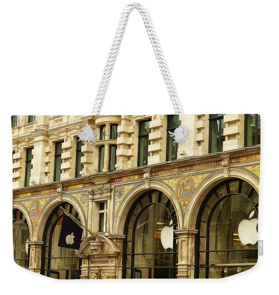 Apple On Regent Street Weekender Tote Bag