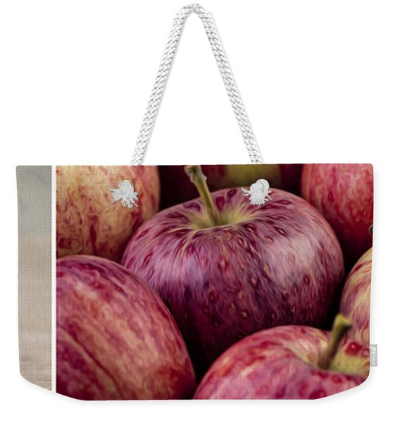 Apples 01 Weekender Tote Bag