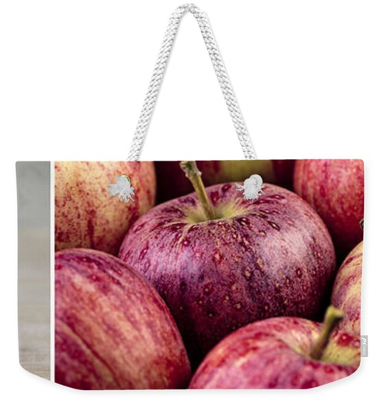Apples 02 Weekender Tote Bag